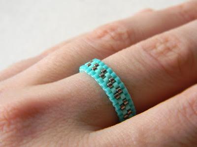 красивые кольца для девушек купить этнические кольца из бисера
