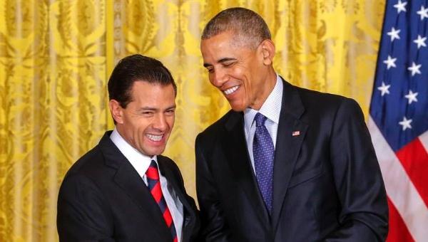 Obama rechaza muro con México y niega que EE.UU. esté al borde del abismo