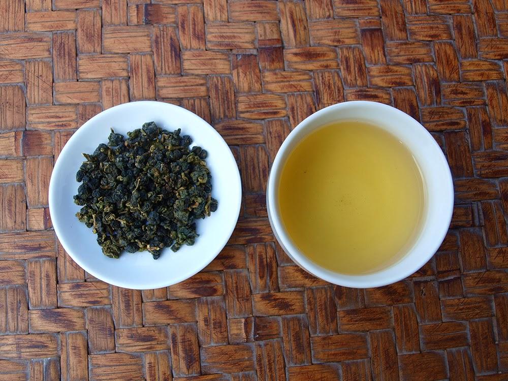 清香凍頂烏龍茶 茶湯