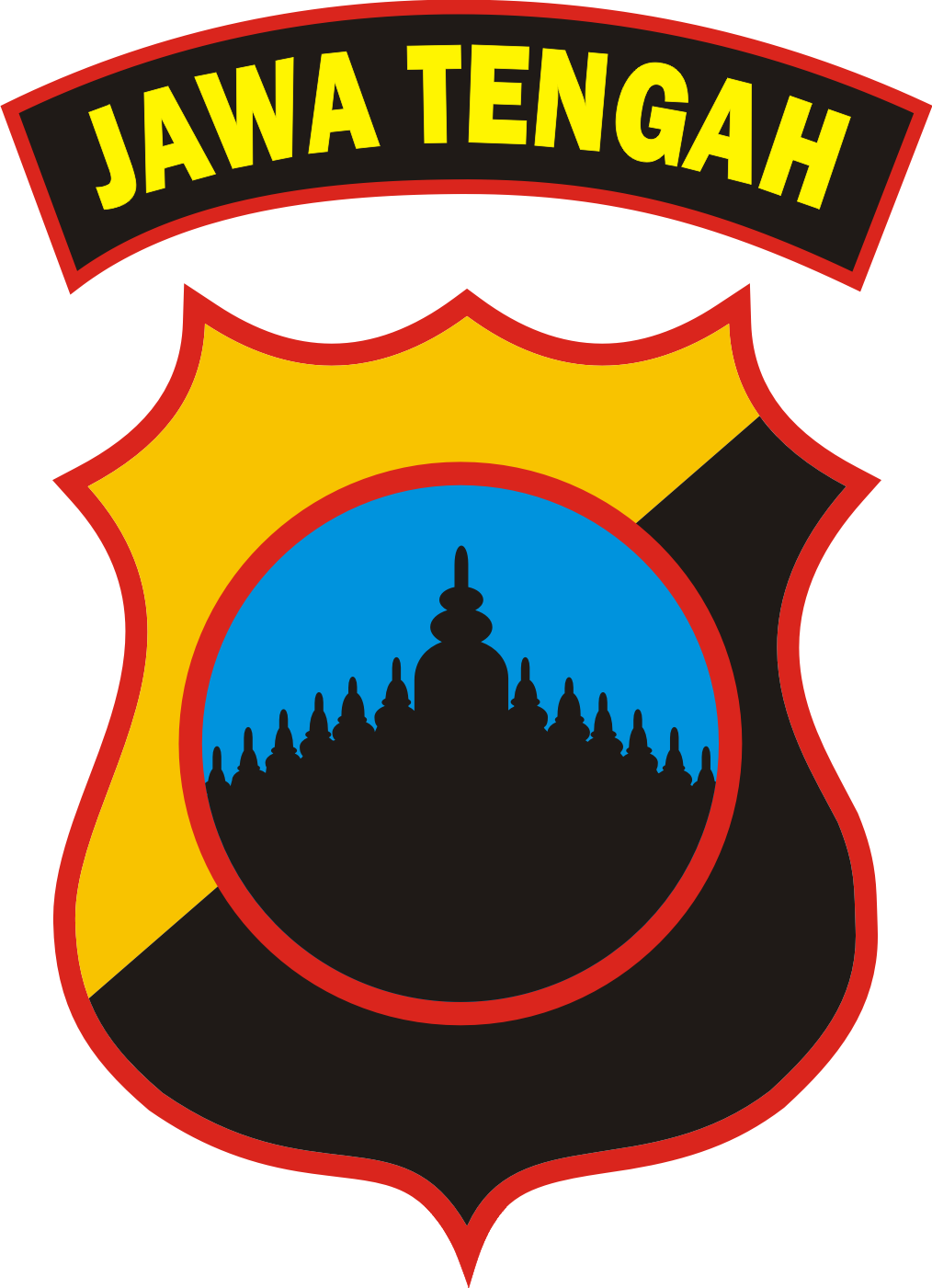 Logo Polda Jawa Tengah  Kumpulan Logo Indonesia