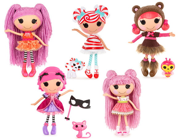 New Lalaloopsy Dolls (No Longer Blurry)