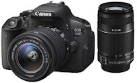 Canon EOS 700D with Twin Lens Kit