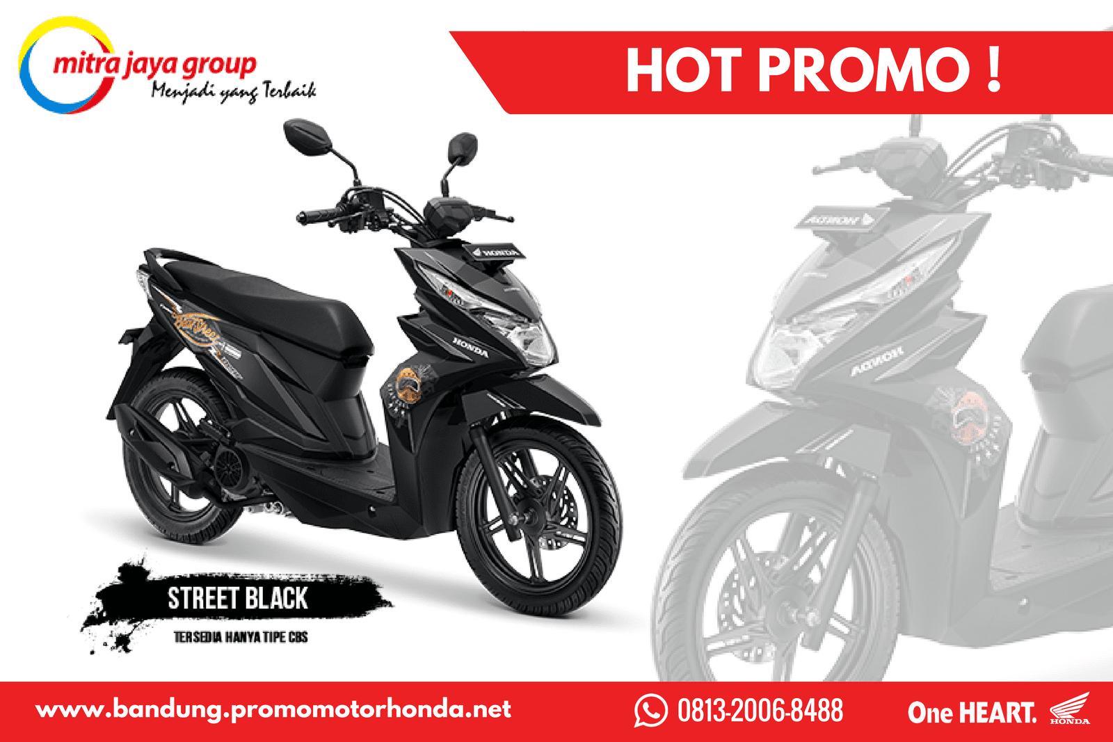Promo Honda Beat Street Bandung Kredit Motor Honda Bandung