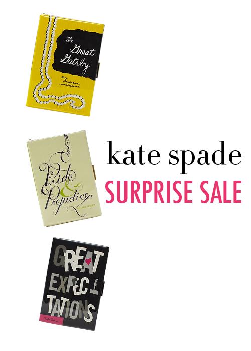 College Prep: Kate Spade Surprise Sale (REALLY good)