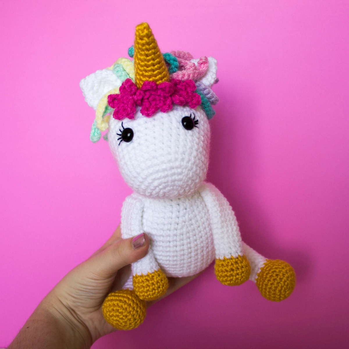 Free Crochet Unicorn Pattern Thefriendlyredfox