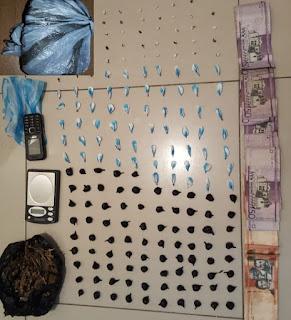 BAHORUCO: Policía Nacional detiene dos con sustancias prohibidas durante operativo