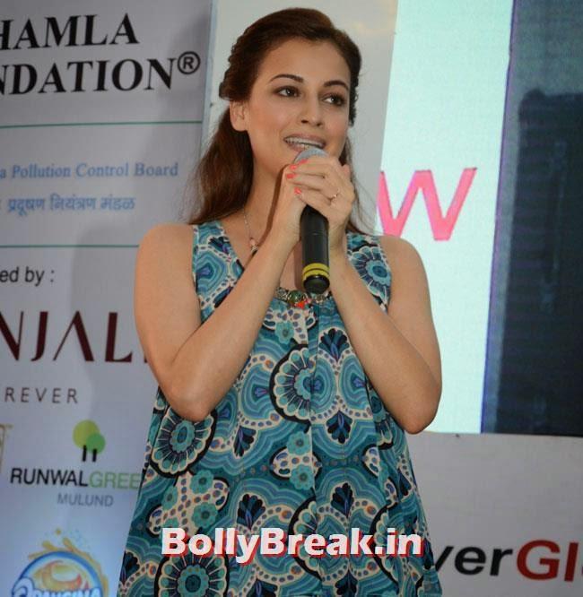 Dia Mirza, Dia & Ruby Bhatia at World Environment Day Celebrations 2014