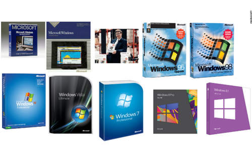 Perkembangan Sistem Operasi Windows