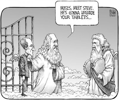 Steve Jobs At The Pearly Gates