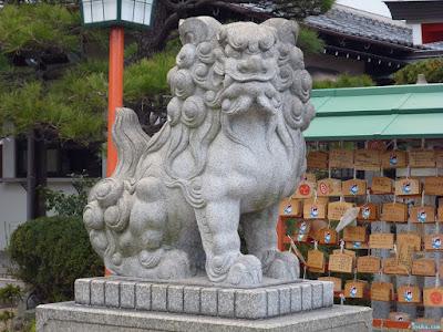 中島惣社狛犬