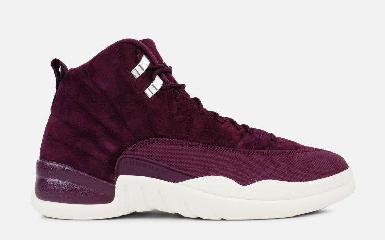 finest selection b3415 f7ad6 Air Jordan 12 Bordeaux Retro Sneaker (Detailed Look + Release Info)