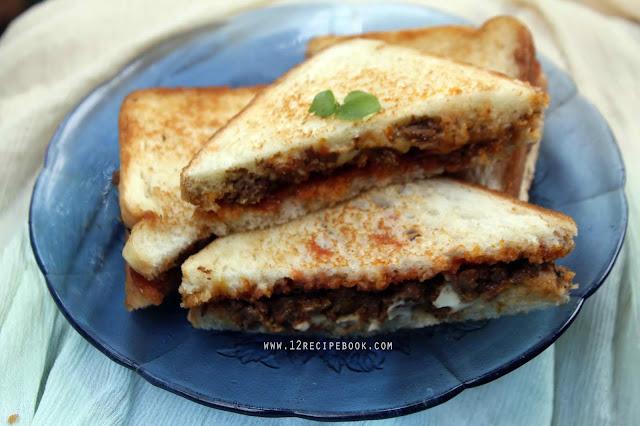 Kheema Sandwich