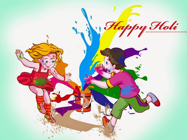 Picture of Holi Festival Animated