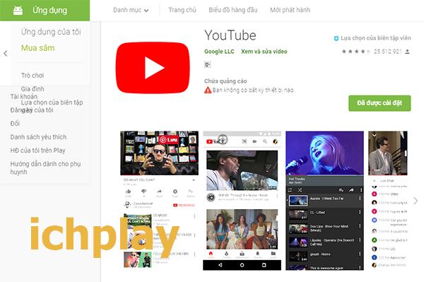 Tải Youtube về Máy Tính, LapTop - Xem video trên Youtube miễn phí a