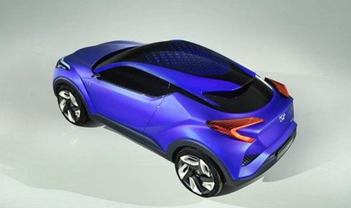 Toyota C-HR 2016 Blue Fierce and Strong Concept