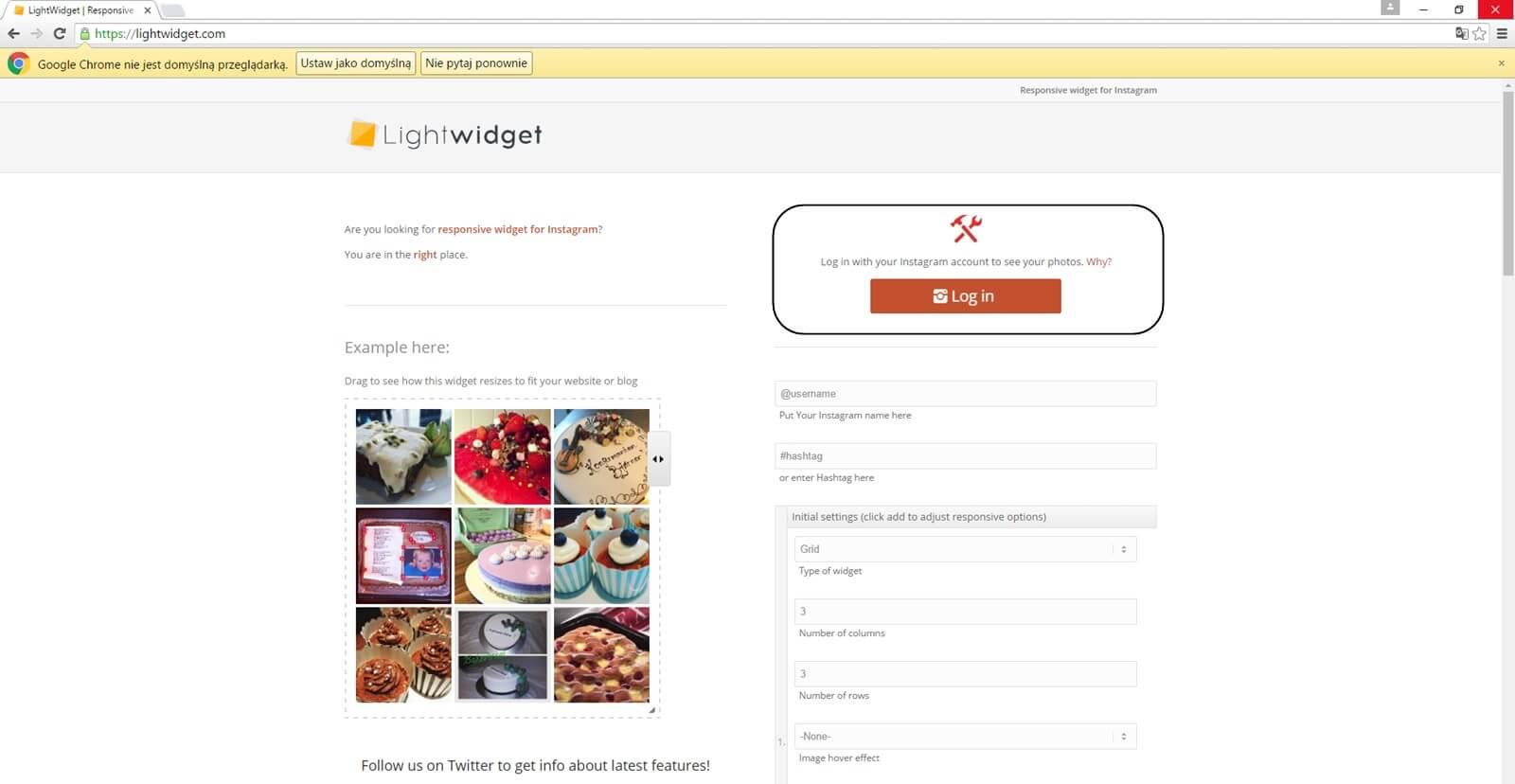 Jak dodać gadżet instagrama ? Blogger