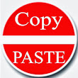 How to find articles in the copy paste ( copy and paste )