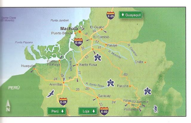 Mapa de Machala