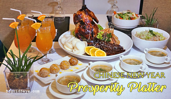 Chinese New Year - Prosperity Platter - Bacolod restaurants - Bacolod hotels - Seda Capitol Central - Bacolod blogger - Chinese family - Chinese food - Chinese traditions - Chinese culture