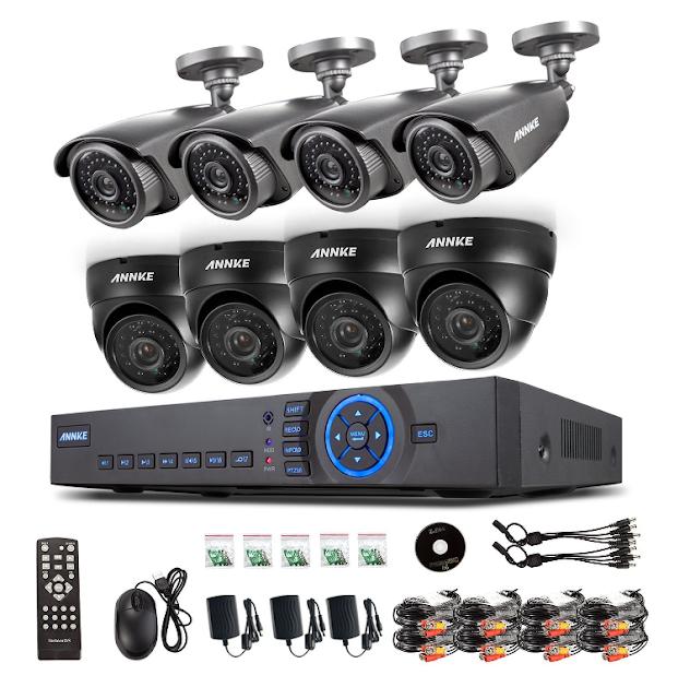 Z Security Cameras Annke 8ch Full 960h Cctv Video