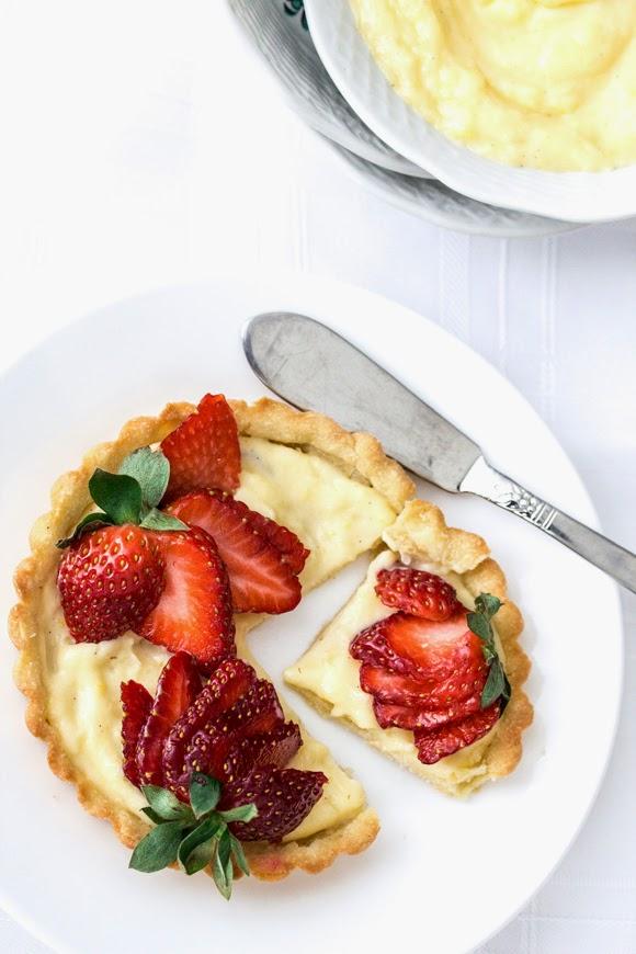 Fresh Strawberry Tarts
