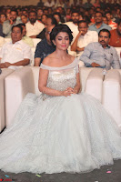 Shriya Saran in Stunning White Off Shoulder Gown at Nakshatram music launch ~  Exclusive (93).JPG