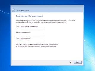 windows 7 me password kaise set kare