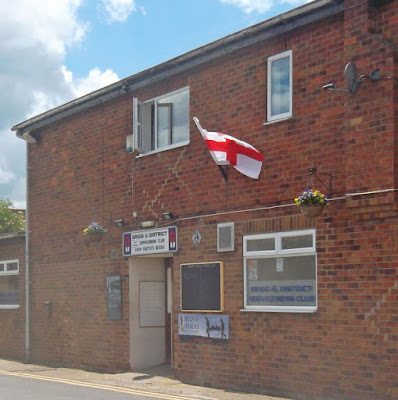 Brigg Servicmen's Club on Coney Court in the town centre