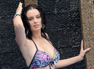 Evelyn Sharma in Bikini Pictureshoot Spicy Pics