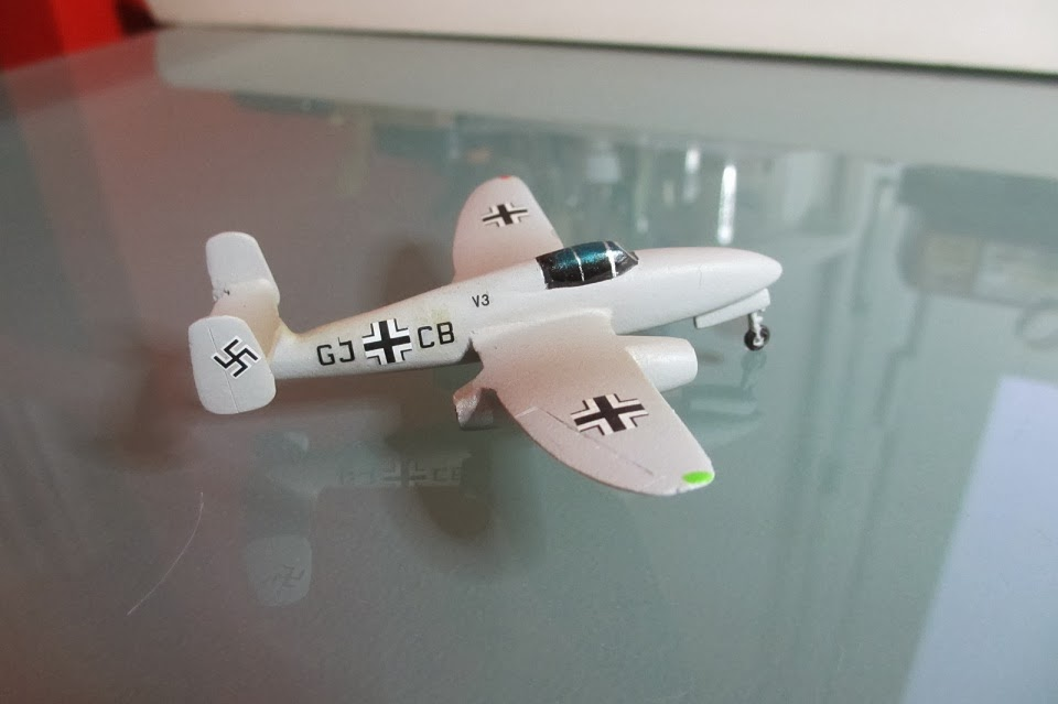 1/144 Heinkel He 280 diecast aircraft