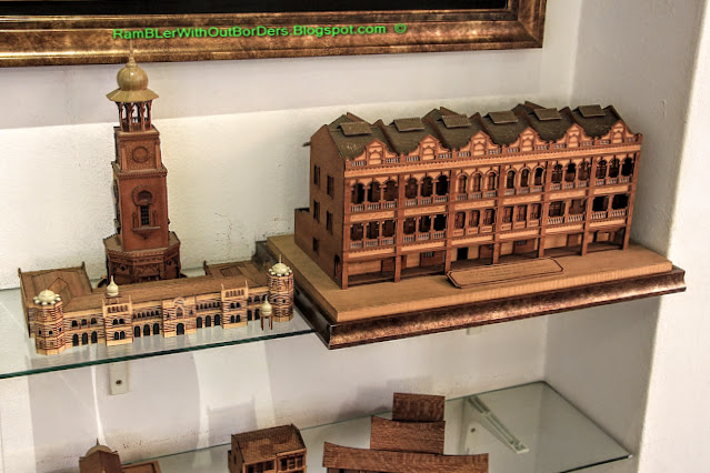 Wood crafts souvenir, KL City Gallery, KL, Malaysia