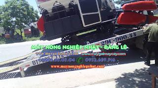 xuất giao Bán máy gặt kubota DC 70 thái lan bãi tại Kiến Thụy Thái Bình
