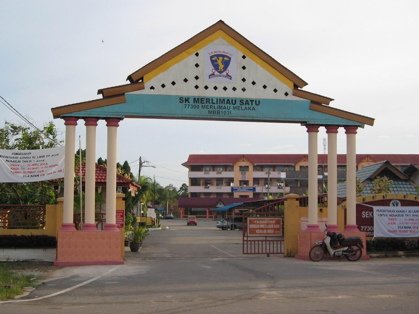 Sekolah Kebangsaan Merlimau Satu: Sejarah Sekolah