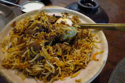 Mustard, mutton briyani