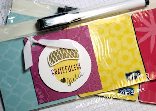 Camp One Way Demonstrator Stamping Retreat Table Favors #stampinup www.juliedavison.com