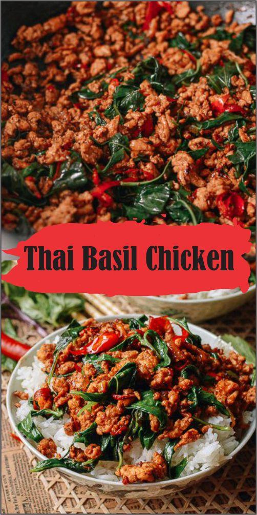 This Thai basil chicken