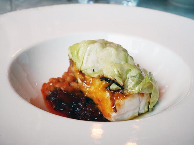 BBQ Monkfish at The Coal Shed restaurant brighton