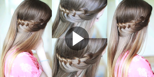 Learn - How To Create Quick and Easy Loop Hairstyle, See Tutorial