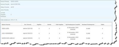 informasi status kepesertaan & tagihan bpjs