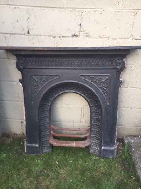 Restoring A Cast Iron Fireplace Old Victorian New