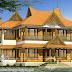 2856 square feet 4 BHK tradional Kerala home design