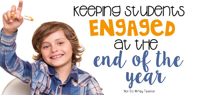 Now that testing is over, how will you keep students engaged and having fun until the end of the school year? I have 10 ideas for you!
