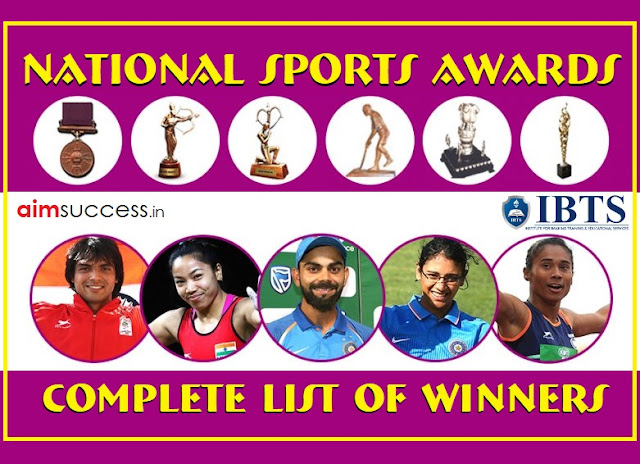 National Sports Awards 2018: Complete List of Winners