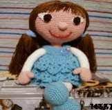 patron gratis muñeca amigurumi, free amigurumi pattern doll