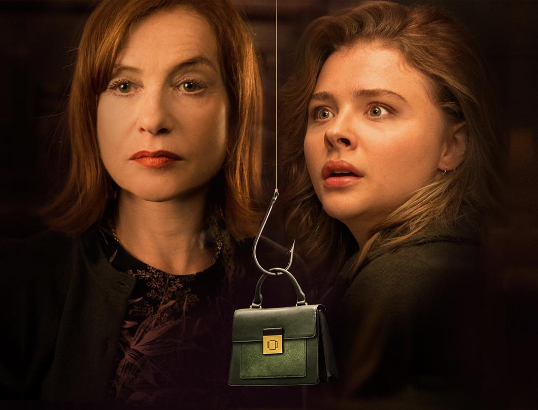 Obsessão: Isabelle Huppert e Chloë Grace Moretz juntas, mas em suspense morno | Cinema