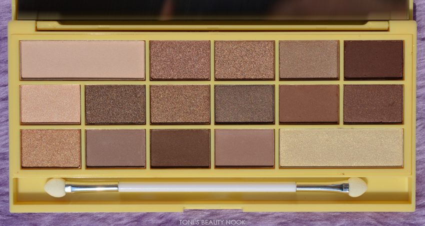 makeup revolution naked chocolate eyeshadow palette