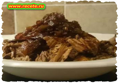 Pulled Beef and Caramelized Onions