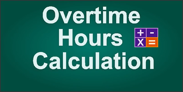 Calculation of Overtime hours KSA