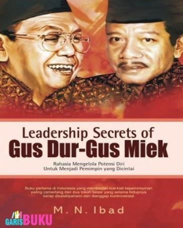 cover leadership secrets of gusdur and gusmiek