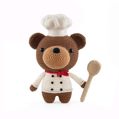 bear cook Amigurumi crochet pattern